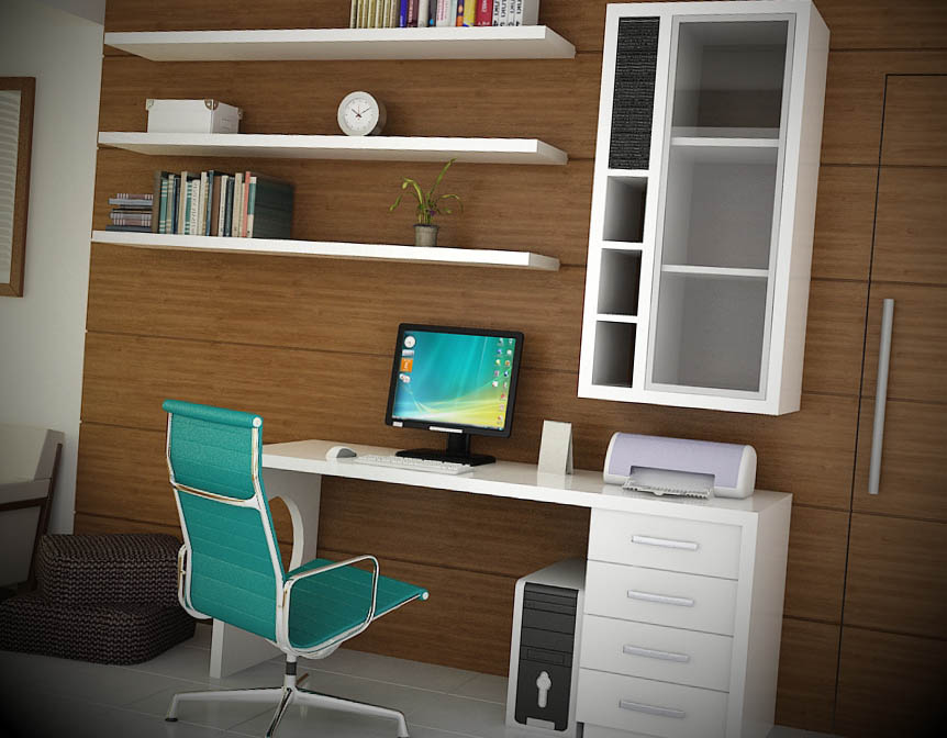 decoracao home office.