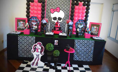 decoracao monster high