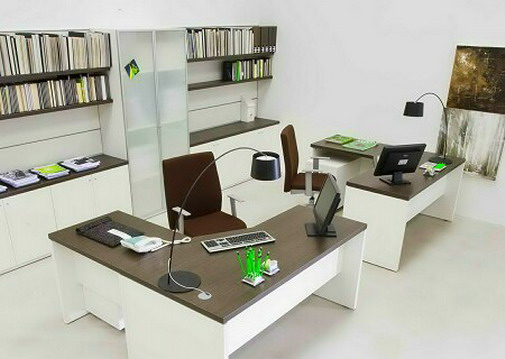 decoracao para escritorio simples