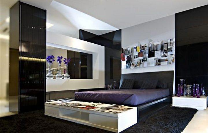 decoracao quartos preto e branco