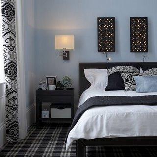 decoracao-quartos-pretoebranco
