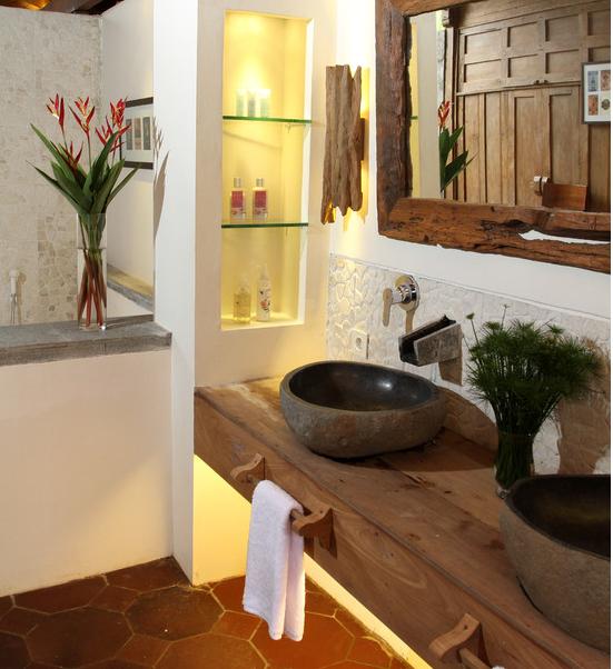 Decoração Rústica para Banheiros -> Cuba Para Banheiro Rustica