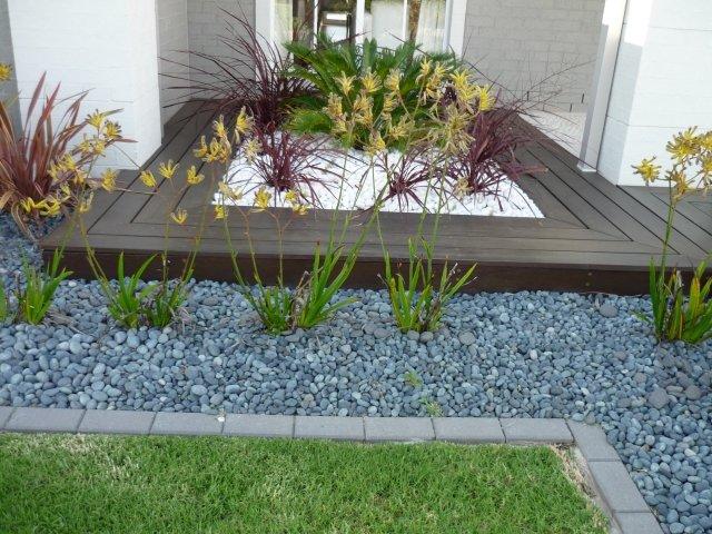 decorar jardim com pedras 11