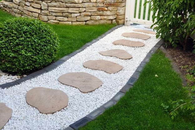 decorar jardim com pedras 12