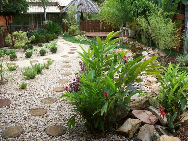 decorar jardim com pedras 4