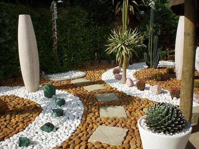 decorar jardim com pedras 8