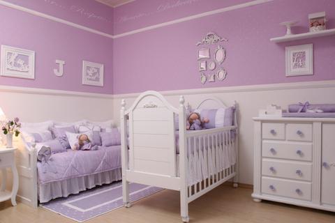 decorar quarto bebe menina Decorar quarto de bebé