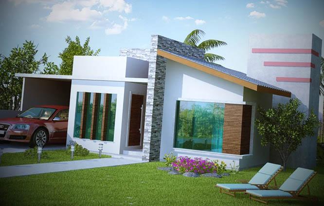 12 Fachadas De Casas Pequenas