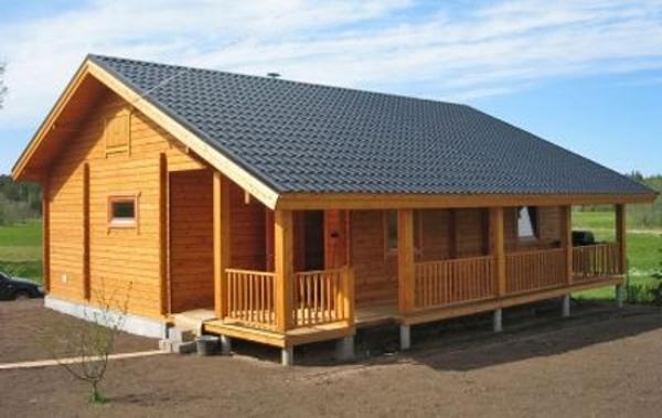 Casas pr fabricadas de madeira for Terrazas economicas chile