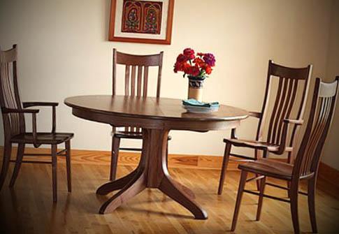 fotos-de-mesas-de-madeira-redondas