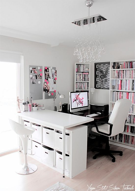 ideias decoração escritorio
