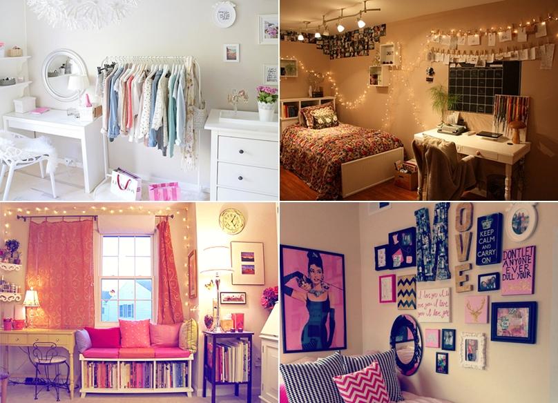15+ Ideias Criativas para Decorar o Quarto ~ Tumblr Quarto Di Secolo