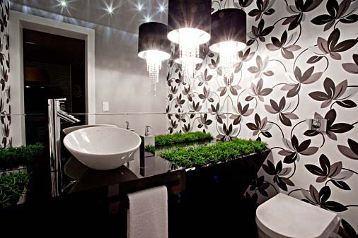 decoracao lavabo papel de parede : decoracao lavabo papel de parede:lavabo-com-papel-de-parede-floral.jpg