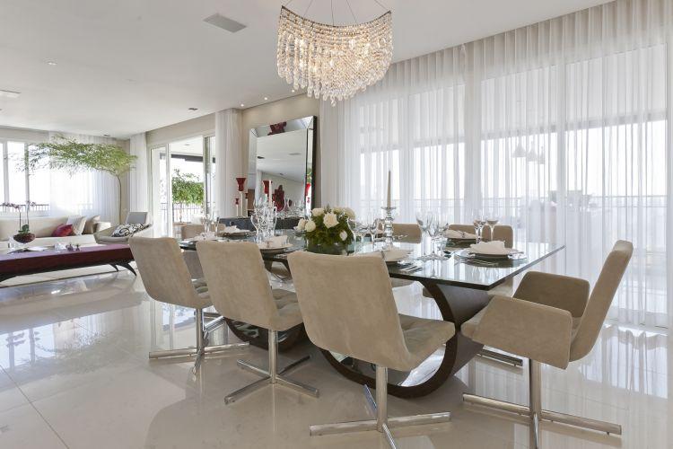 mesa grande para sala de jantar