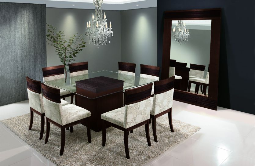 Mesas sala de jantar for Mesas de sala modernas