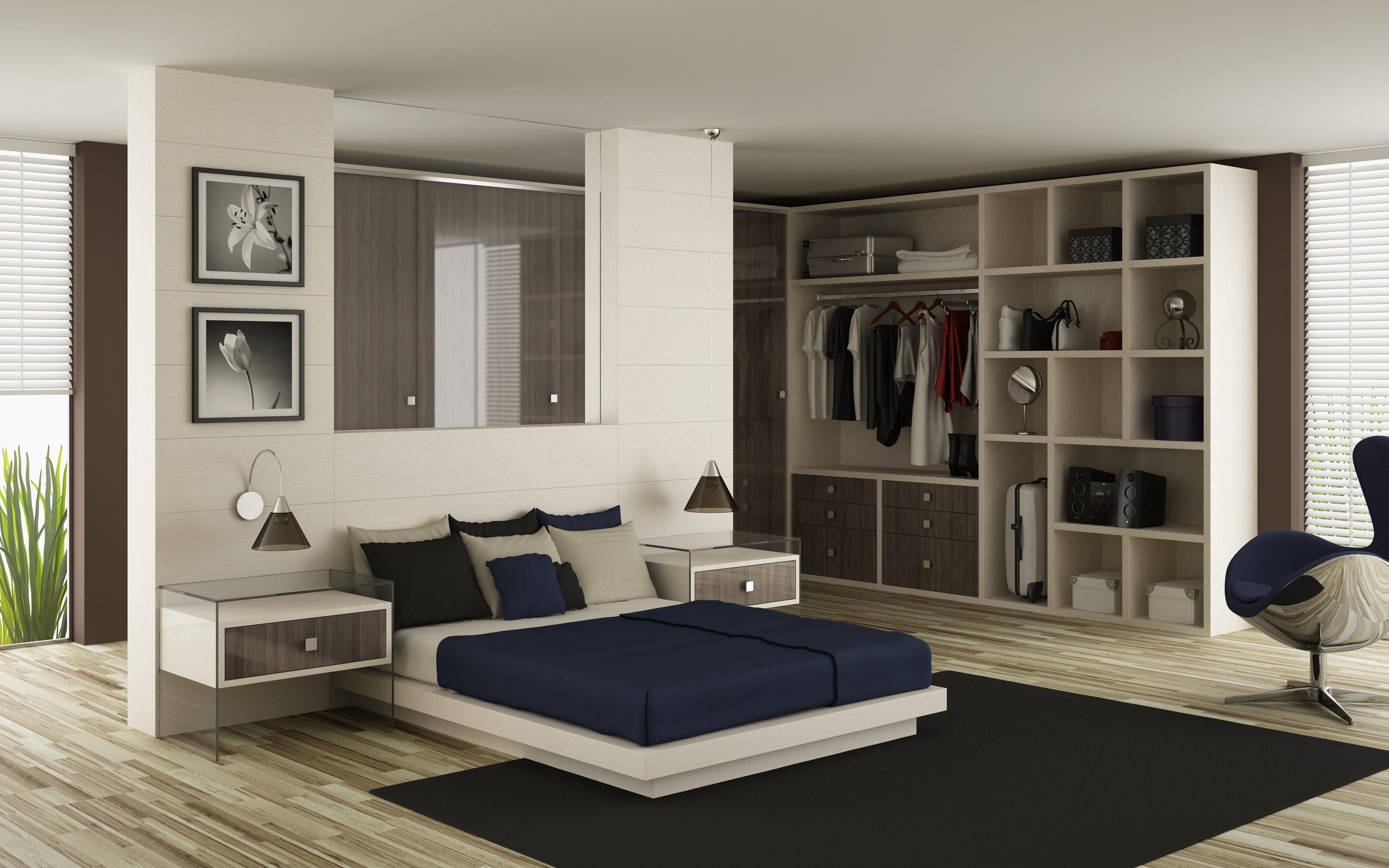 Moveis Planejados Para Quarto De Casal Com Closet Redival Com ~ Decoração Quarto Casal Com Closet