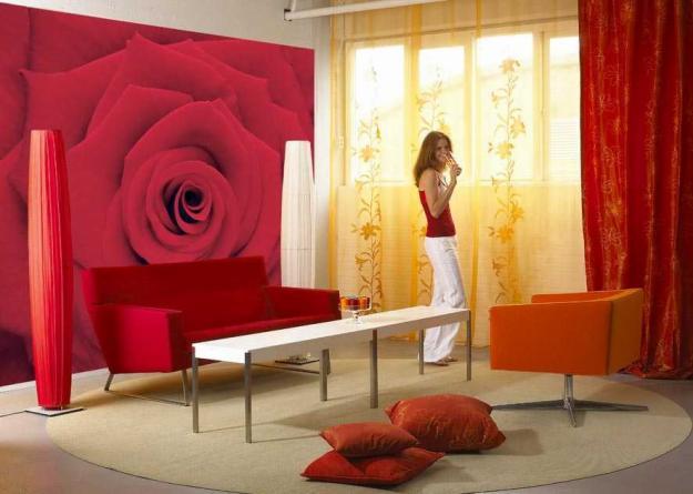 papel de parede decoracao Decoração com papel de parede