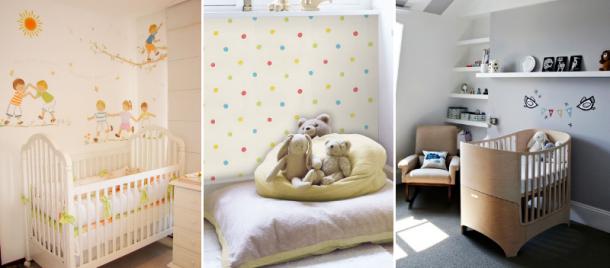 Autocolantes para quartos infantis