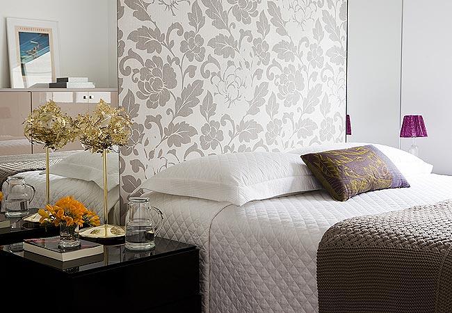 Dicas para escolher o papel de parede do quarto for Papel decorativo para paredes baratos