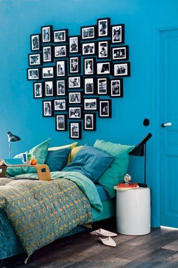 quarto de dormir colorido