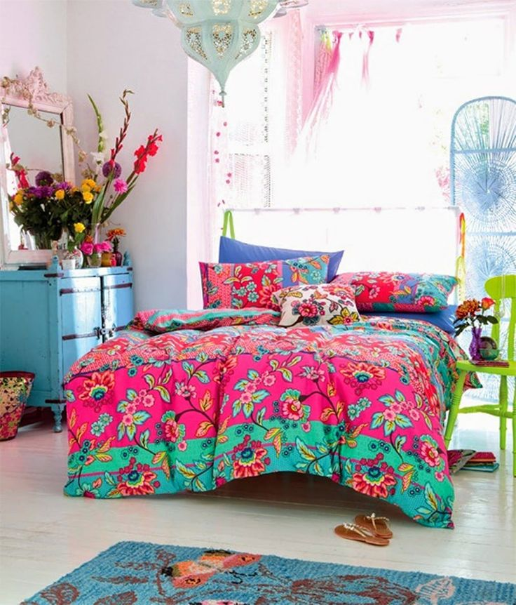 quarto decorado hippie 10