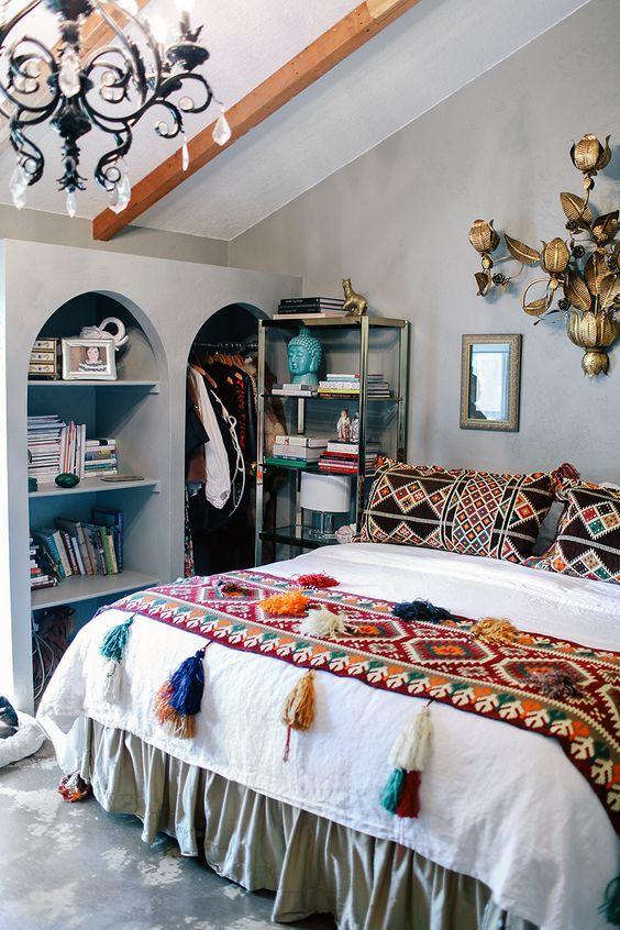 quarto decorado hippie 12