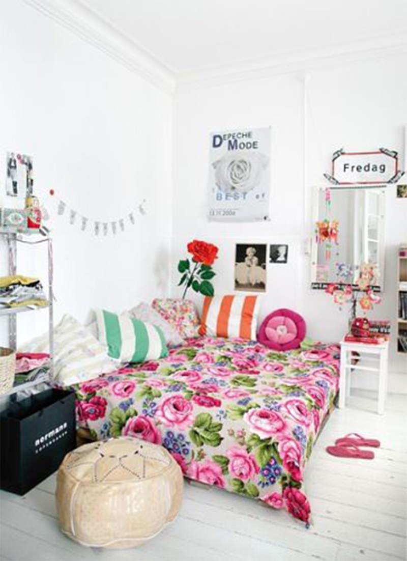quarto decorado hippie 16