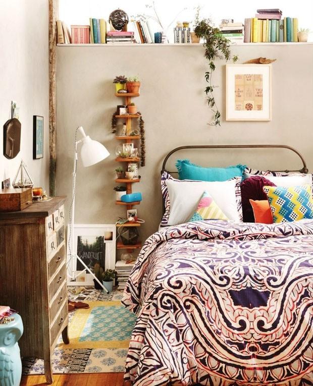 quarto decorado hippie 2