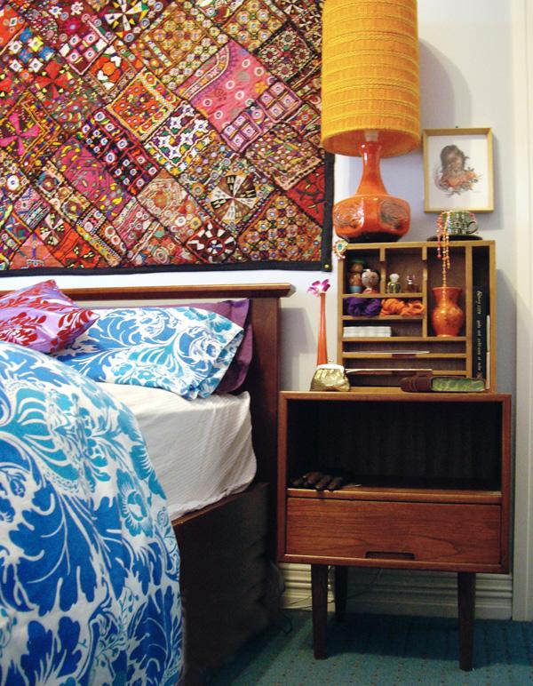 quarto decorado hippie 5