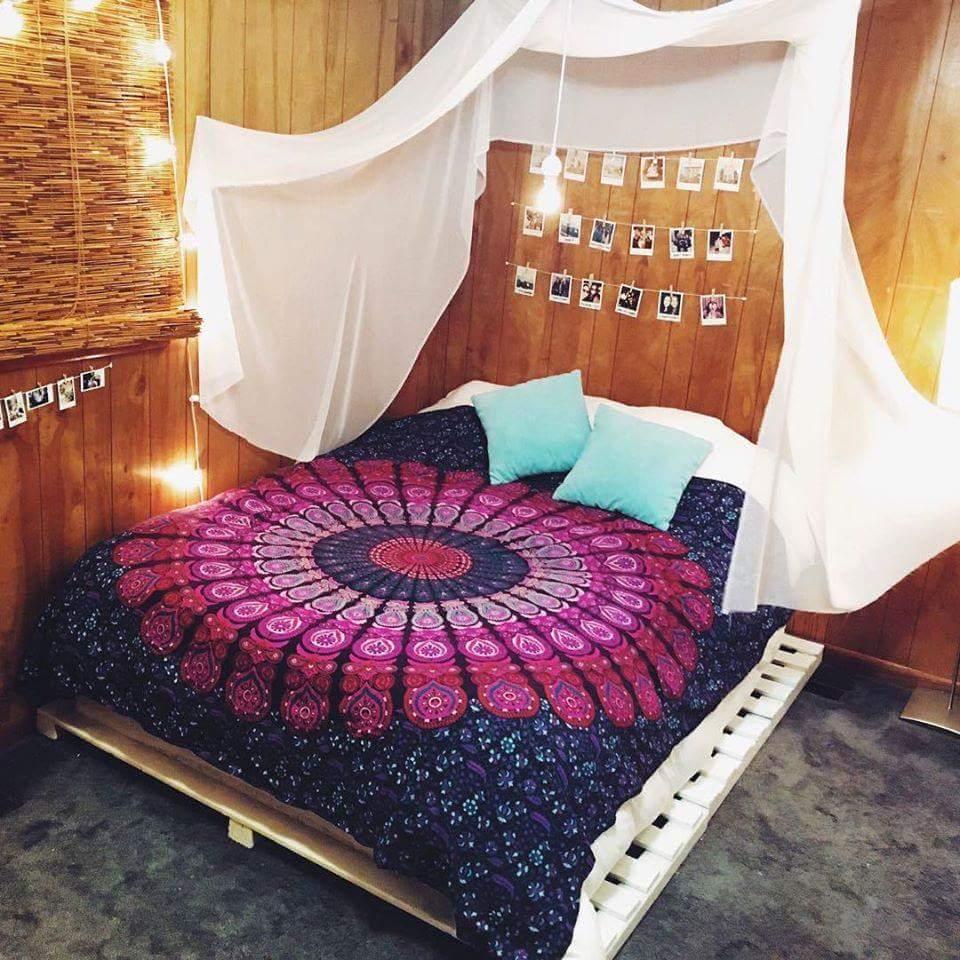 quarto decorado hippie 6
