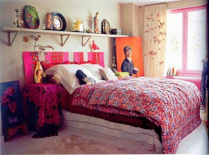 quarto decorado hippie 7