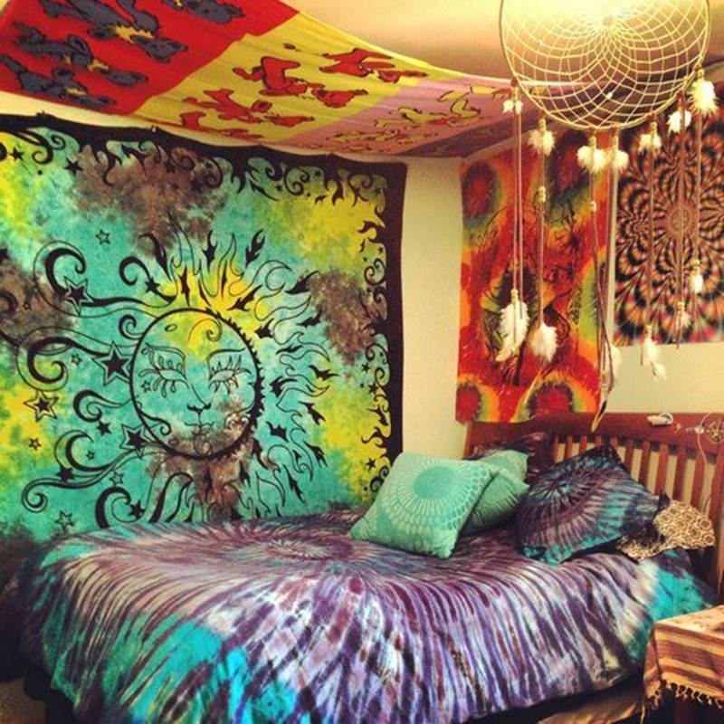 quarto decorado hippie 8