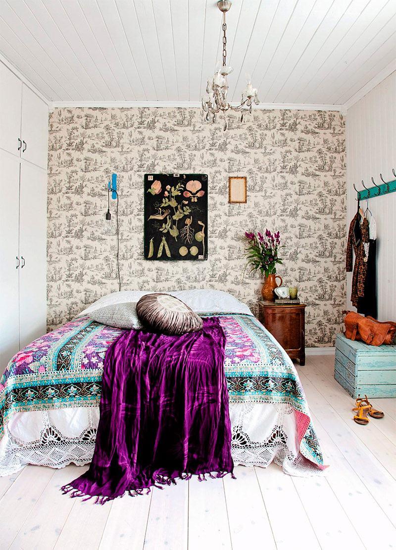 quarto decorado hippie 9