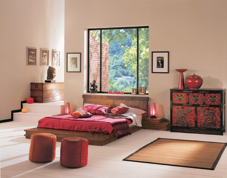quarto oriental decorado 12