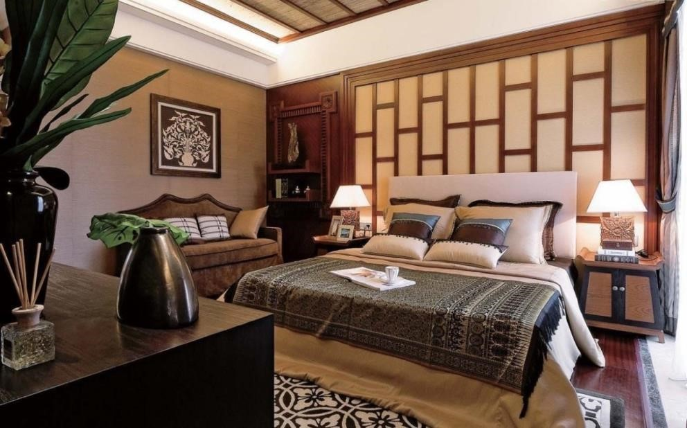 quarto oriental decorado 7
