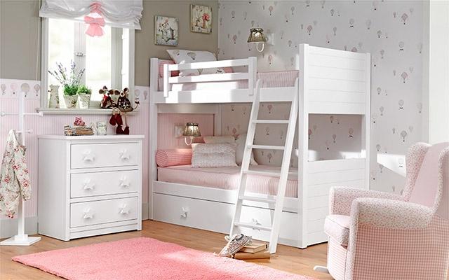 quarto para meninas beliche