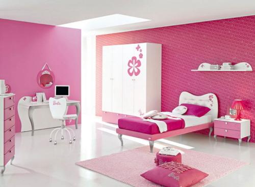 quarto rapariga rosa Dicas de decoração de quarto duma adolescente