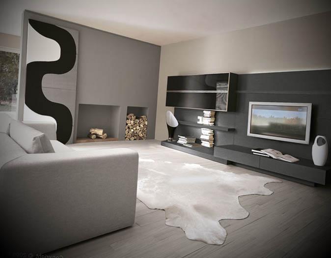 Fotos de salas de estar moderna for Salas vintage modernas