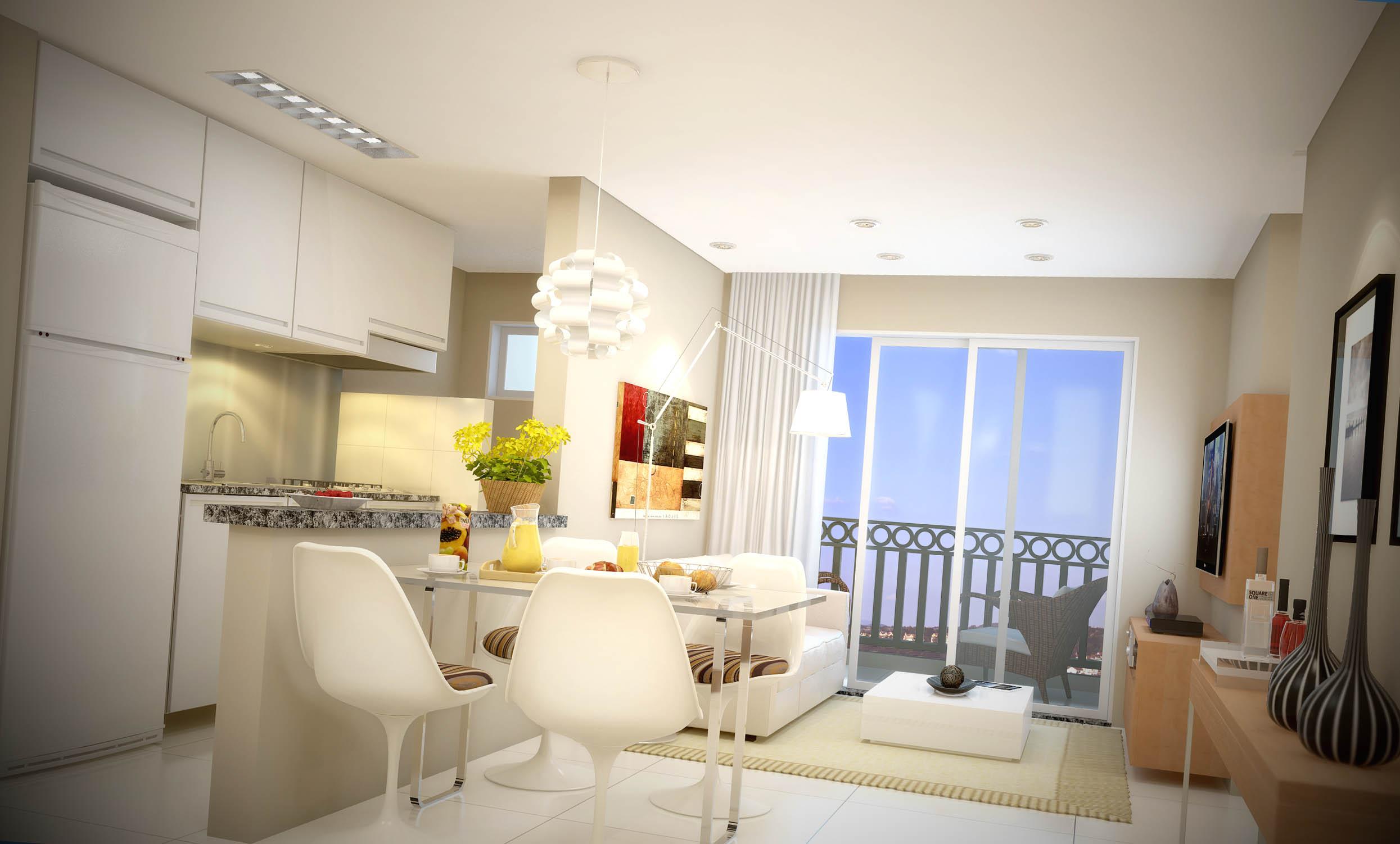 Sala E Cozinha Pequena Imagem Novidade Em Foco Inspiraes Para