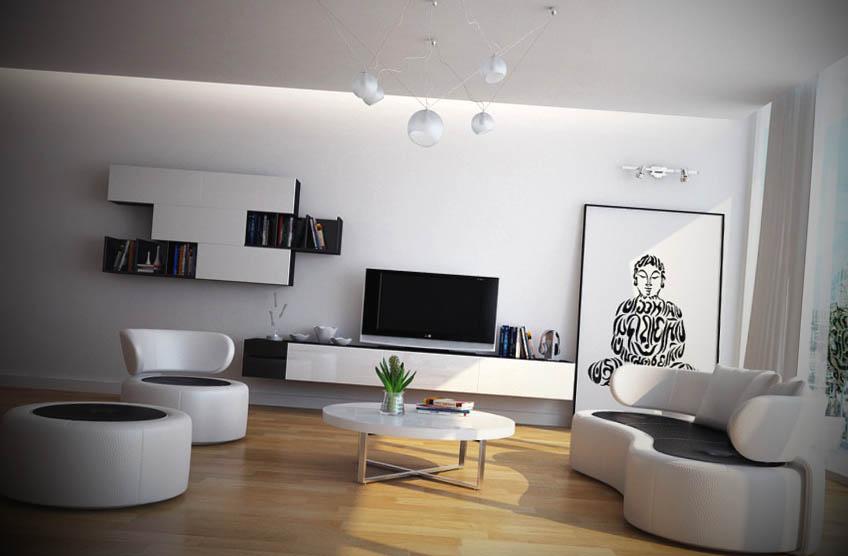 Ideias Para Sala De Estar Moderna ~ Fotos de Salas de Estar Moderna