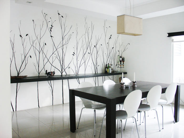 sala-jantar-preto-branco