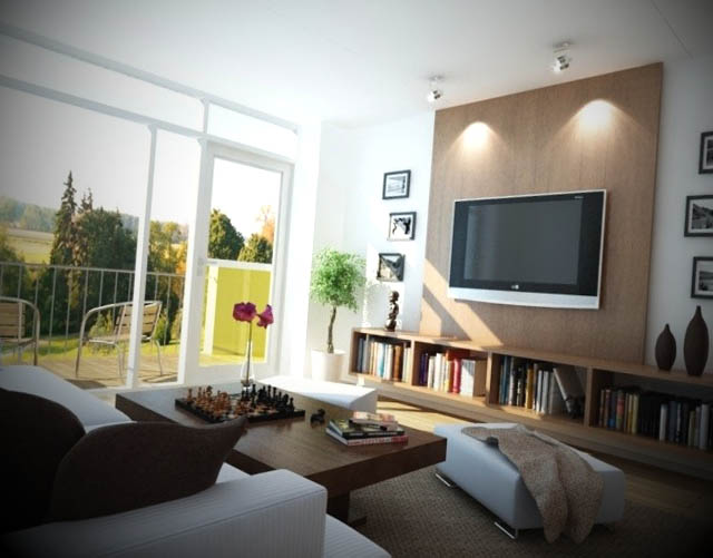 Ver Sala De Tv Decorada ~ Dicas de decora o de sala de tv