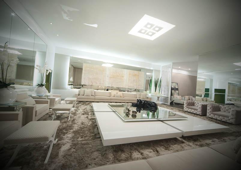 fotos de salas de luxo decoradas