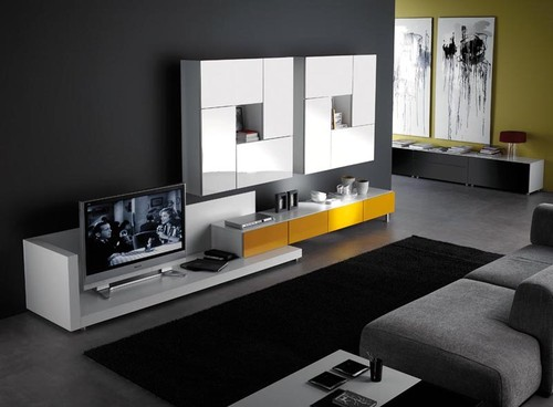 salas modernas Decoração Salas Modernas