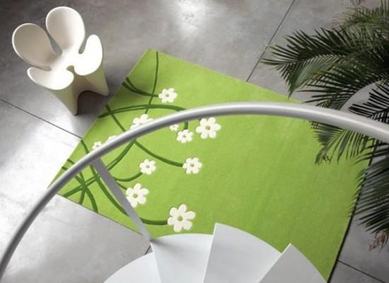 tapete-flores-verde
